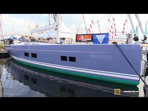 2017 Hanse 588 Sailing Yacht - Deck and Interior Walkaround - 2017 Annapolis Sail Boat Show