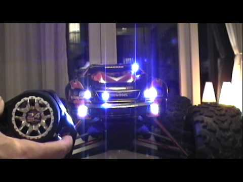 Traxxas E-Revo with LED lights system and police lights & Traxxas E-Revo with LED lights system and police lights - YouTube azcodes.com