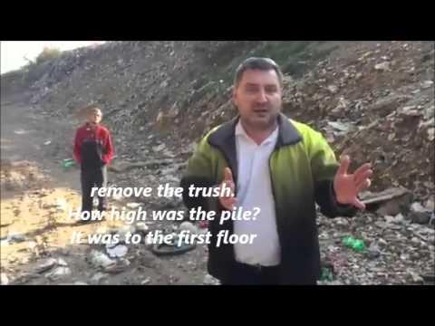 Gypsy slum in Slovakia