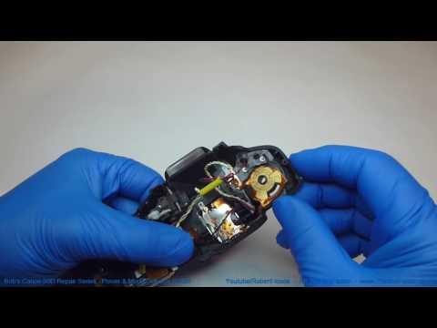 Canon 60D Repair Series - Power Switch & Mode Selector Switch Repair