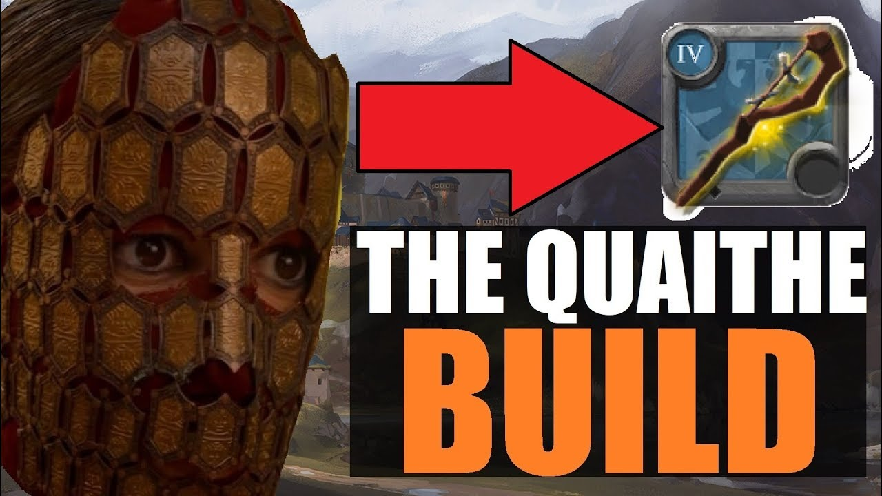 ►Druidic Staff INSANE Healing Build for 2vs2 HELLGATES! - The Quaithe Build  | Albion Online