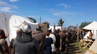 The Real Vikings vs  Slavs Battle! (Wolin Slavs and Vikings Festival)
