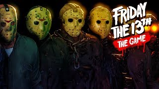 CHAD, ERIC, and DEBRA Back At It Again! - Friday the 13th Game!