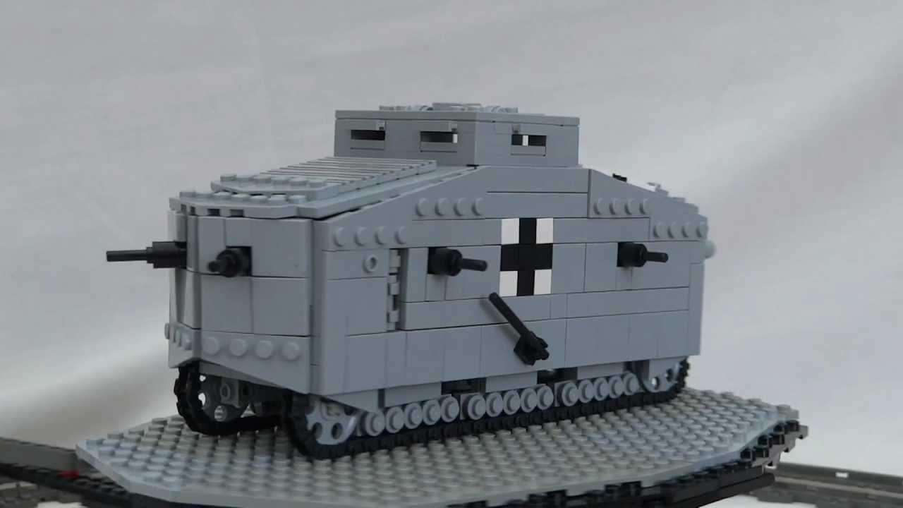 lego ww1 tank
