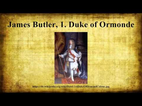 James Butler, 1. Duke of Ormonde