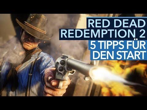 Fünf Einsteiger-Tipps für Red Dead Redemption 2 - Statuswerte, Loot & Dialoge (Gameplay)