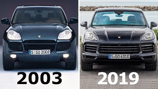 Porsche Cayenne Evolution: 2003 - 2019