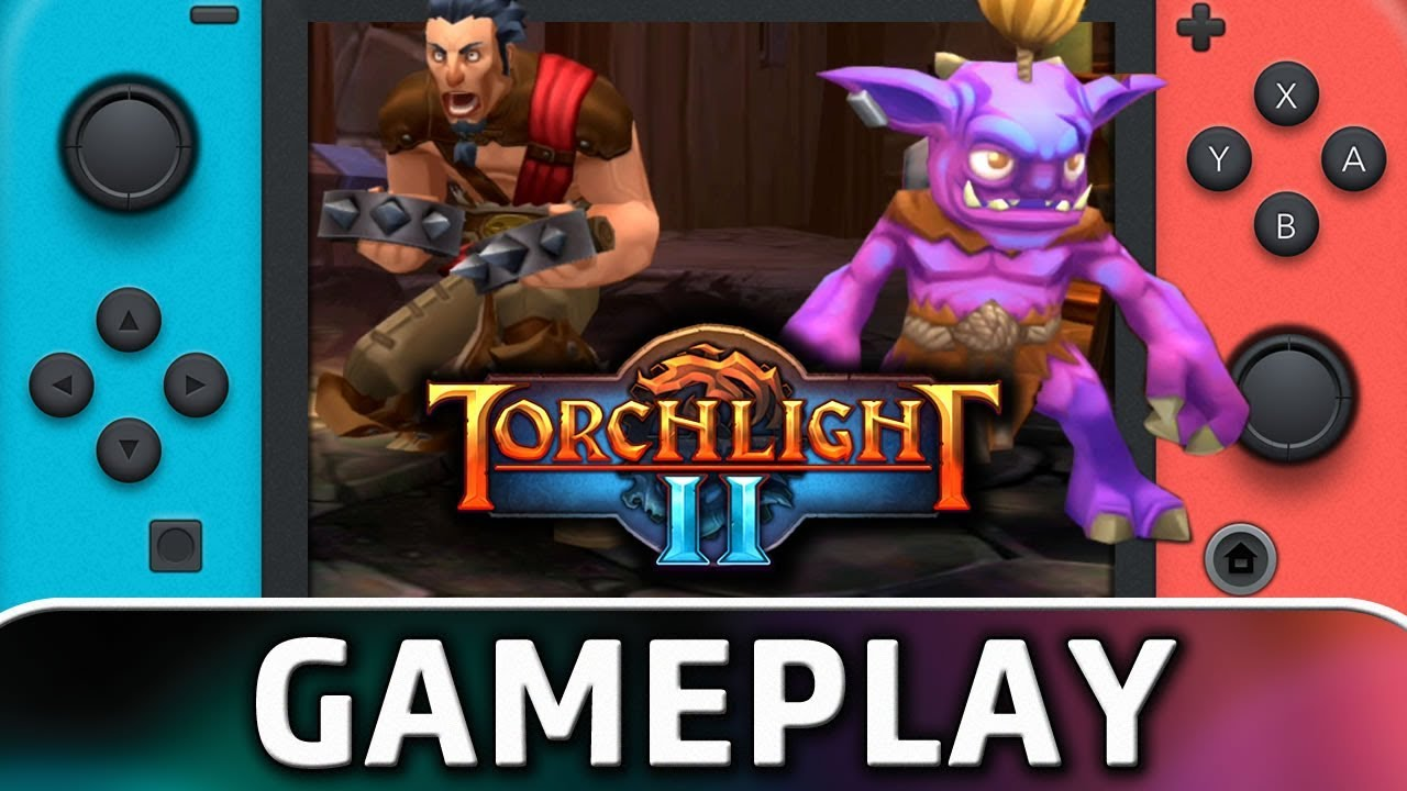 Torchlight II | First 15 Minutes on Nintendo Switch