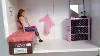 My Homemade Barbie Doll House