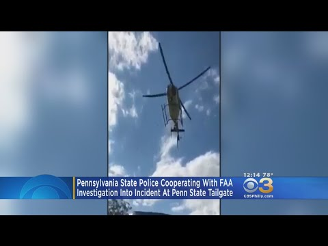 State Police Cooperating With FAA Investigation Into Penn State Helicopter Incident