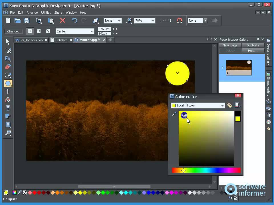 Xara Photo & Graphic Designer video tutorial