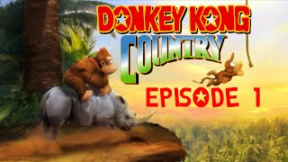 Donkey Kong Country [Part 1] - Kongo Jungle | StoneMonkWisdom