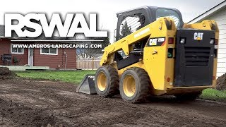Gambar cover Grading Yard With Skid Steer / Landscaping Install