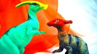 Динозавры. Смешные истории #4 про динозавров для детей. Смешное видео(Влюбленный динозавр везде ходит за своей избранницей, которая очень хочет побыть одна. С большим трудом..., 2016-01-07T07:02:01.000Z)