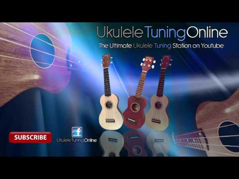 Ukulele Standard Tuning: GCEA Strings Picking