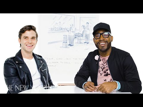 """Queer Eye"" Enters The New Yorker Cartoon Caption Contest 