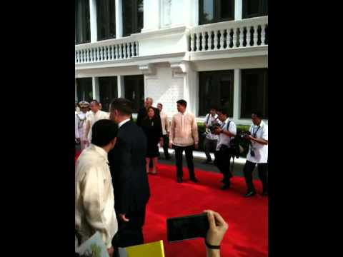 Pope in Malacanang