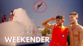 Savvas Smashes It at the Water Park! | Ibiza Weekender