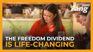 The Freedom Dividend Is Life-Changing: A Day with the Recipients