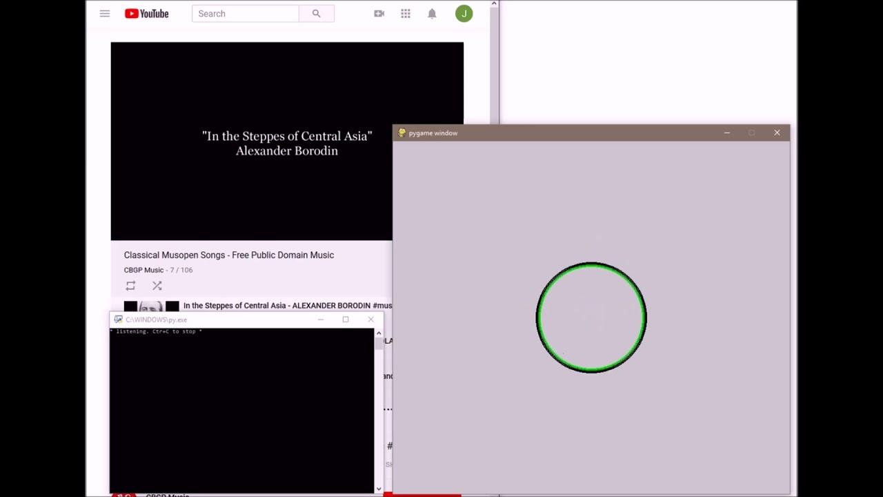 Sound Visualizer example