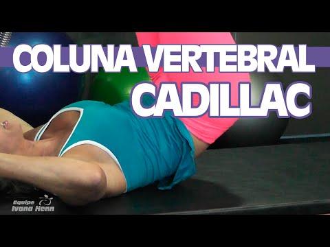 Alongamento da musculatura da Coluna Vertebral - Cadillac   Curso de Pilates - Dica da Semana