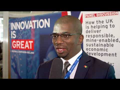 Hon. Abdoulaye Magassouba, Guinea Conakry, Minister Of Mines & Geology