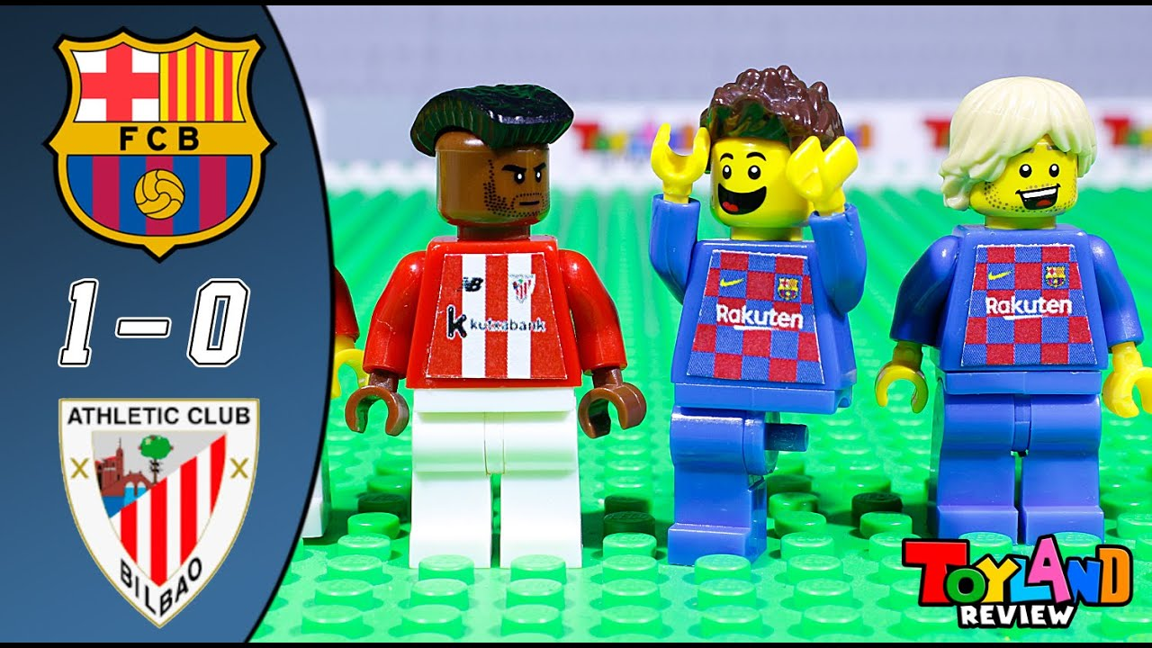 LEGO Barcelona 1 - 0 Athletic Bilbao Highlights & All Goals 2020