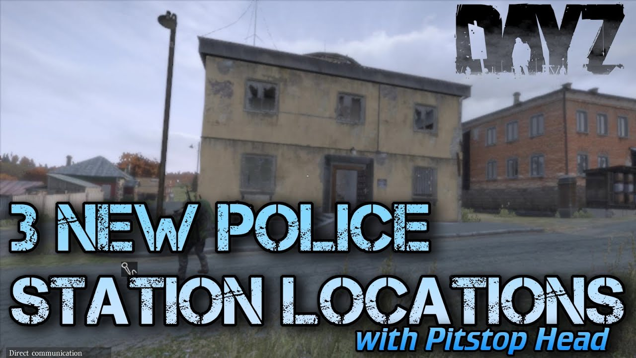 Three New Police Station Locations In Dayz Standalone