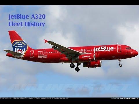 JetBlue Airbus A320 Fleet History (1999-Present)