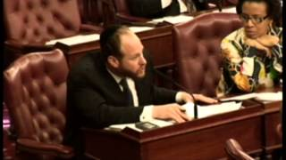 Councilman Greenfield Denounces Anti-Semitic Outburst in NYC Council Chamber