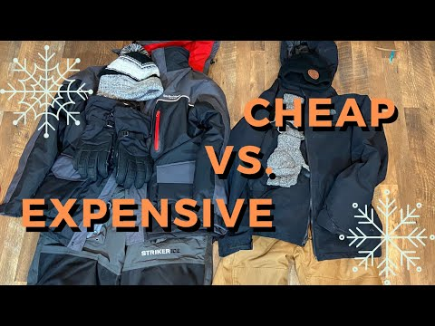 Cheap Vs. Expensive Ice Fishing Outerwear