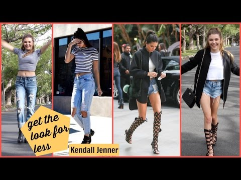 Kendall Jenner Inspired Get The Look With Olivia Jade! YouTube