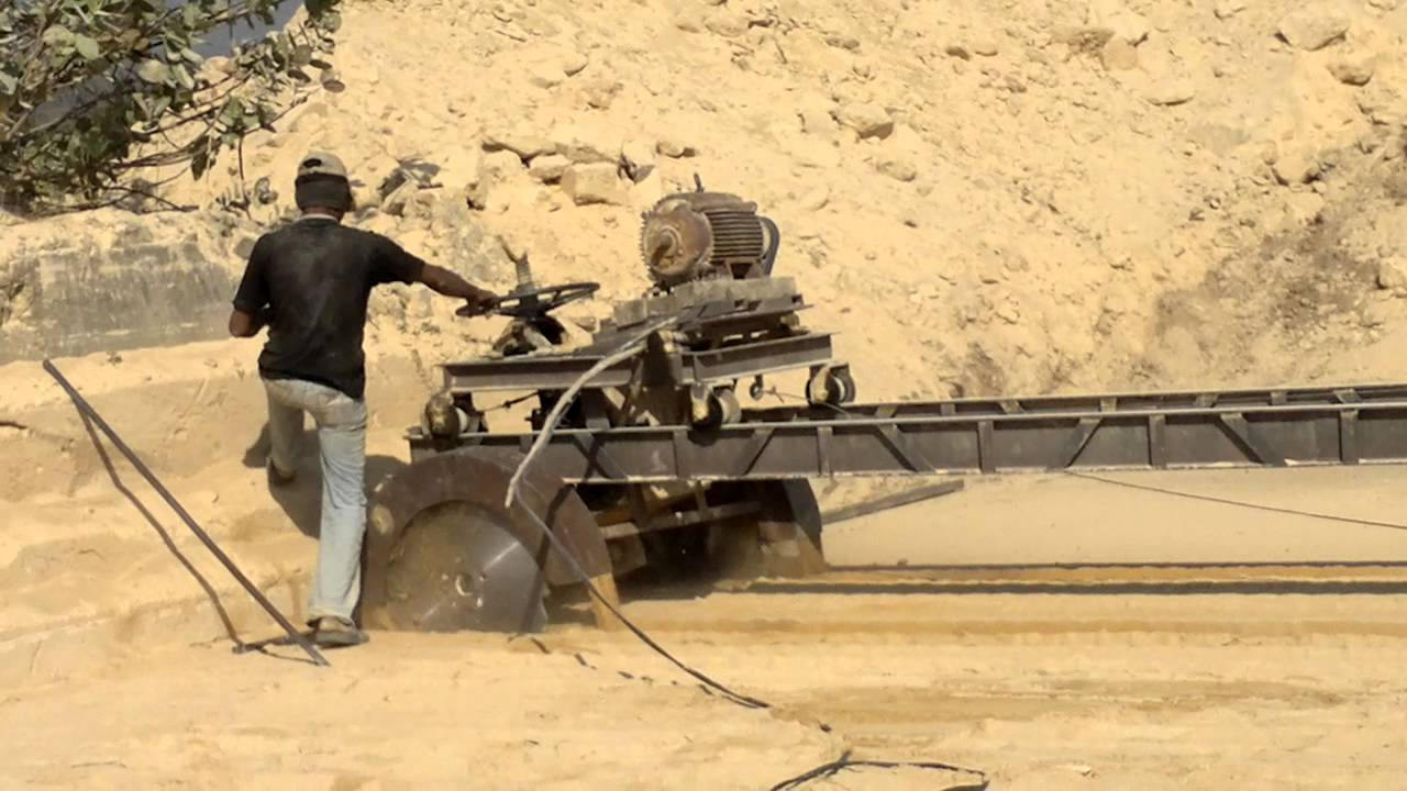 limestone cutting machine
