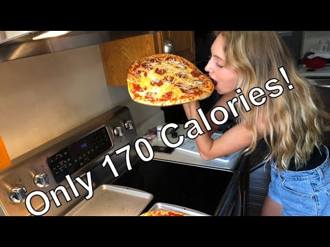 170 Calories! LOW CALORIE PIZZA YOU CAN EAT EVERYDAY! Make It In Under 10 Mins!