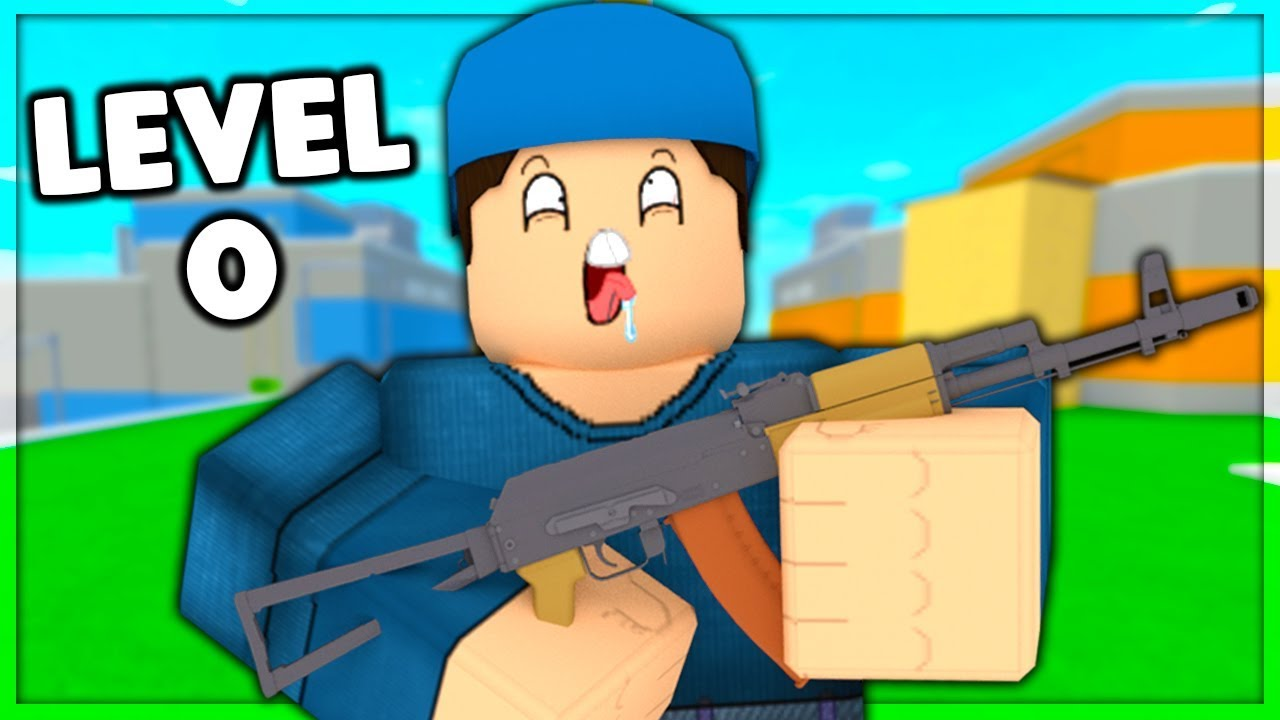Level 0 To 100 In Arsenal Ep 1 Roblox Youtube