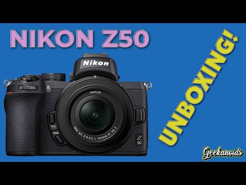 Nikon Z50 16-50mm Kit Unboxing and First Look