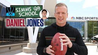 Simms QB School: New York Giants' Daniel Jones   Chris Simms Unbuttoned   NBC Sports