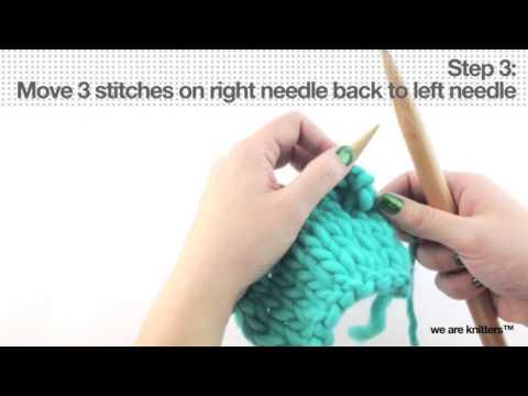 Abketten - elastisch I-cord - WE ARE KNITTERS - YouTube