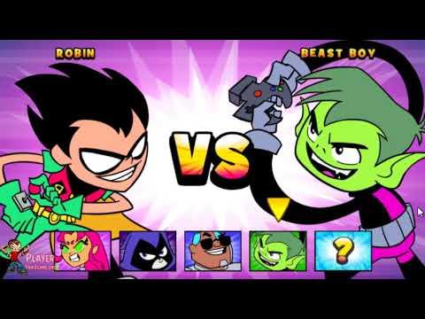 Teen Titans Go: Jump Jousts - Cartoon Network Games Walkthrough Full HD