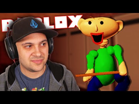 BALDI BEAR IS HERE! (and It's Awful To Look At...) | Roblox Bear