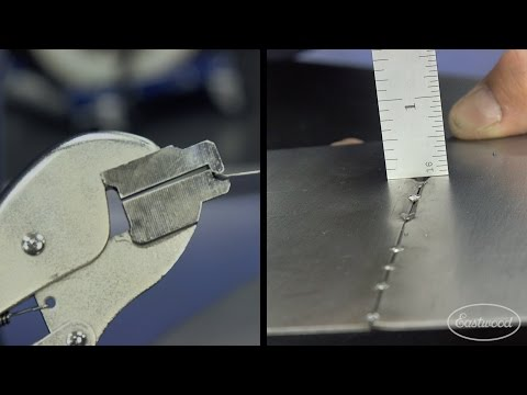 How To Achieve Perfect Welds on Sheet Metal - Manual Perfect Panel PrepTool from Eastwood