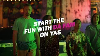 Start the #FunWithDaFam on Yas Island