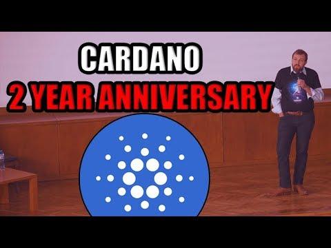 REACTION VIDEO: Charles Hoskinson's Cardano 2 Year Anniversary Speech