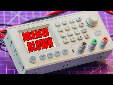 An Incredible Bench Power Supply! (Riden RD6018-W Unboxing and First Look!)