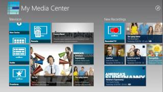 My Media Center for Windows 8