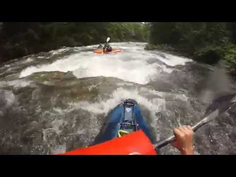 Savage River Whitewater Kayaking with a Hi-N-Dry Rolling Aid - Dad's POV