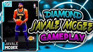 DIAMOND JAVALE MCGEE IS UNSTOPPABLE?!?! HES POSTERIZING EVERYBODY!! NBA 2K19 MYTEAM