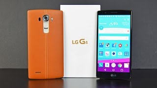 LG G4: Unboxing & Review