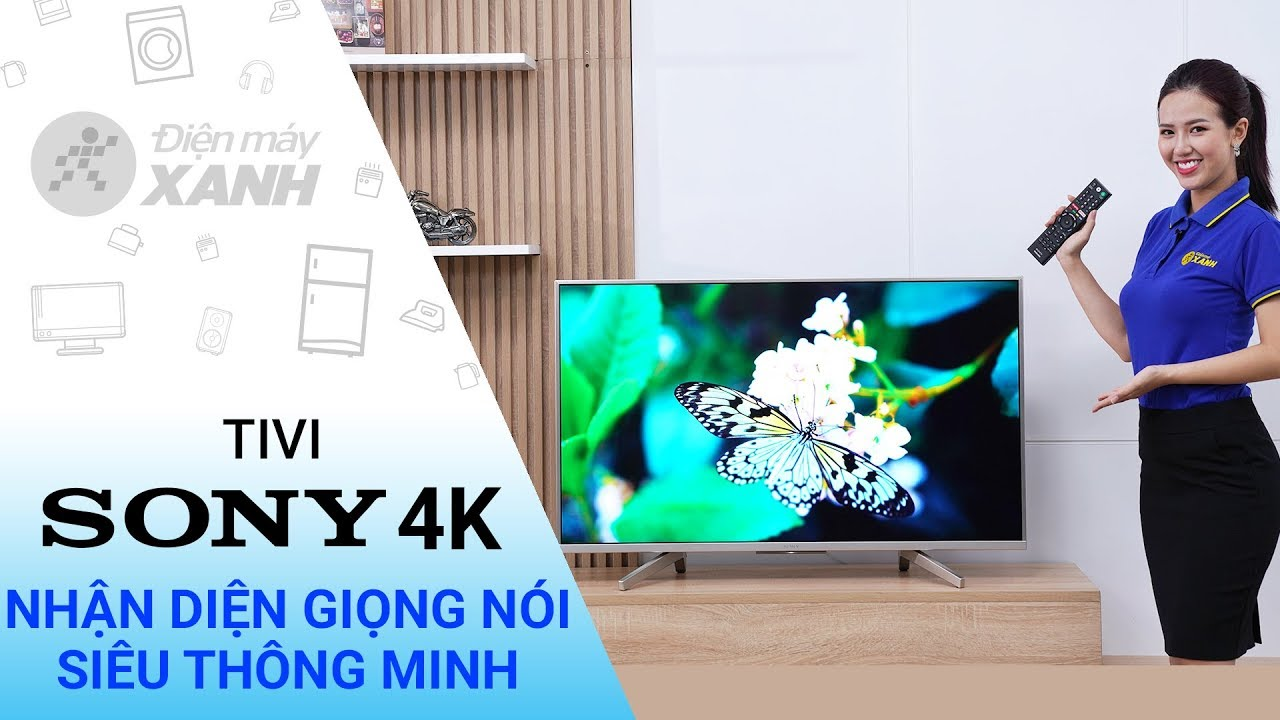 Dòng Android Tivi Sony 4K X8500F/S (43 inch, 49 inch, 55 inch, 65 inch, 75 inch)
