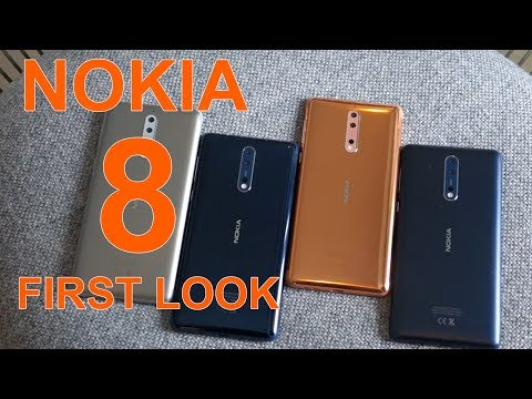 Nokia 8 First Look | Hands on | Launch